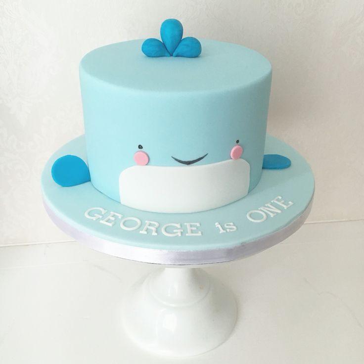 Whale Birthday Cake                                                       …