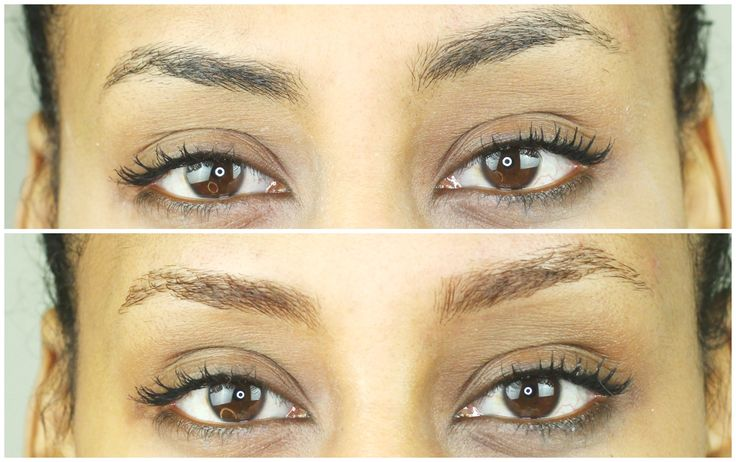 How To Lighten Your Eyebrows | Tutorial
