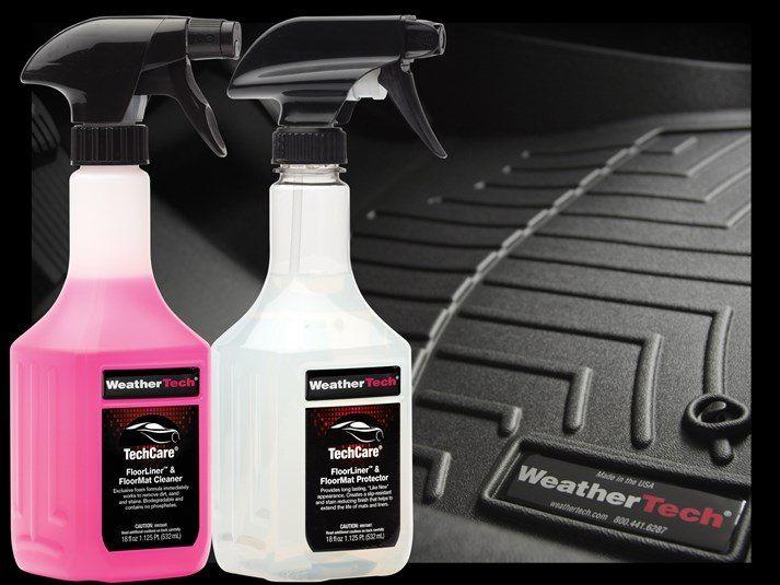 WeatherTech TechCare FloorLiner//Floor Mat Protector Kit