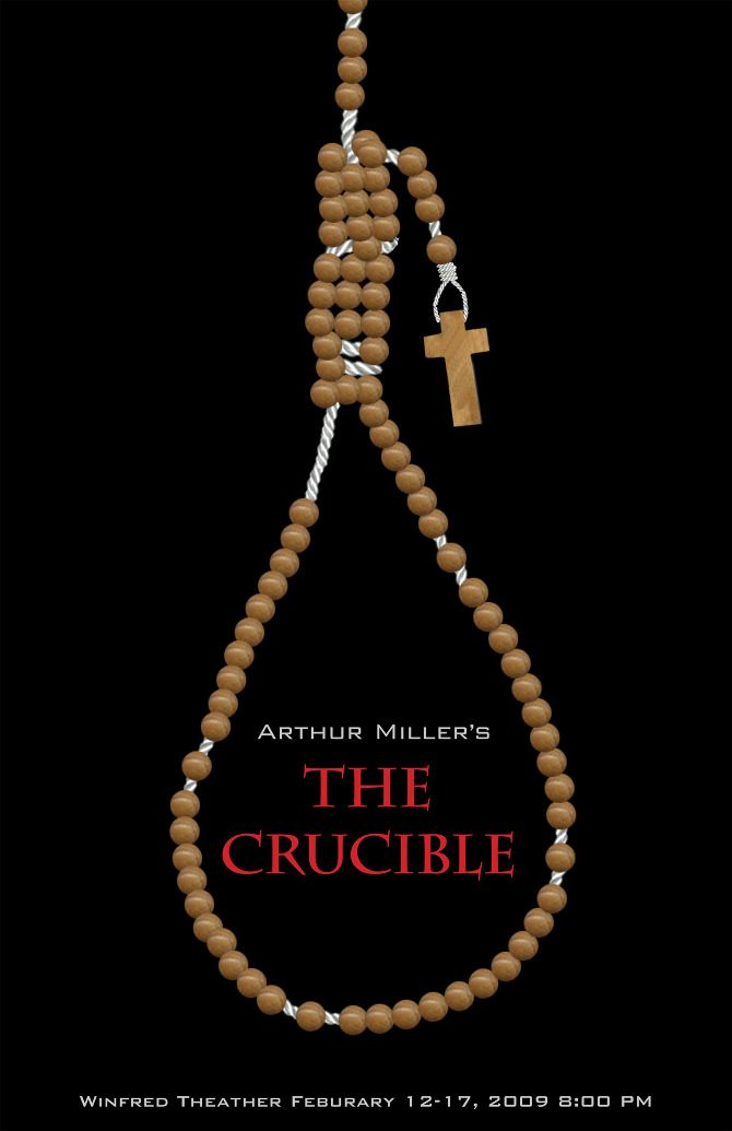 The rituals of witchcraft in the crucible by arthur miller