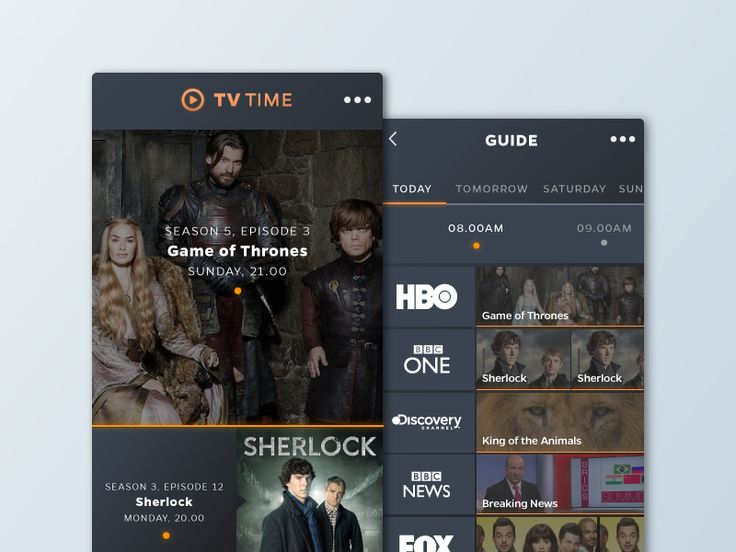 Daily UI - Day 25 - Tv App