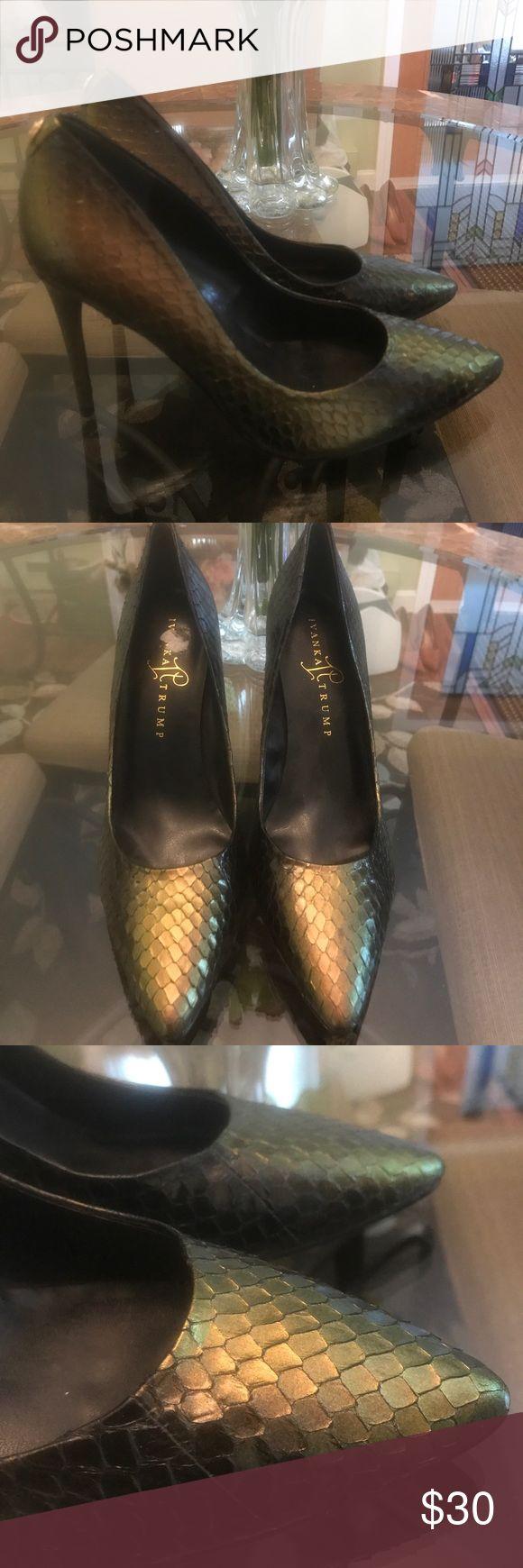 ⚠️TODAY ONLY⚠️ Sexy Ivanka Trump Heels Size 8 Beautiful and classy Ivanka Trump heels, Size 8. Never worn, like new condition. Ivanka Trump Shoes Heels