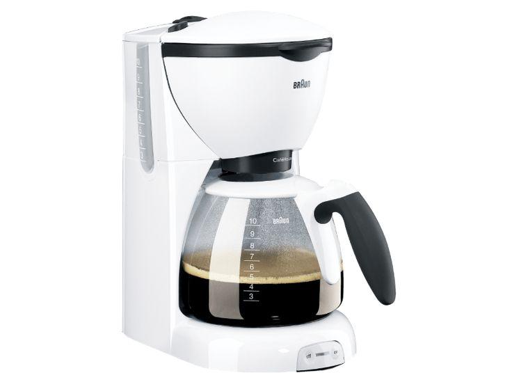 BRAUN CaféHouse Pure Aroma KF520 Kaffebryggare Kaffe & Espresso - Handla online hos Media Markt