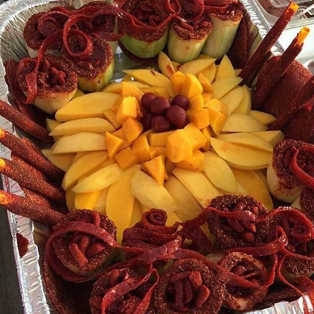 Frutas locas- no recipe, but I get the idea.