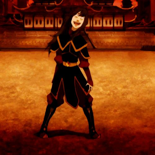 The whole Azula going wobbly thing in Avatar: the Last Airbender finalized my decision to call her my favorite.