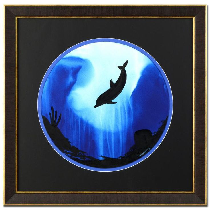 """Dolphin (WWO-24148)"" - Wyland Gallery - 218418 | Qart.com"