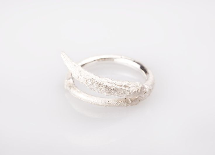 BEECH Ring II. Handcrafted in sterling silver. Available on www.1618.design