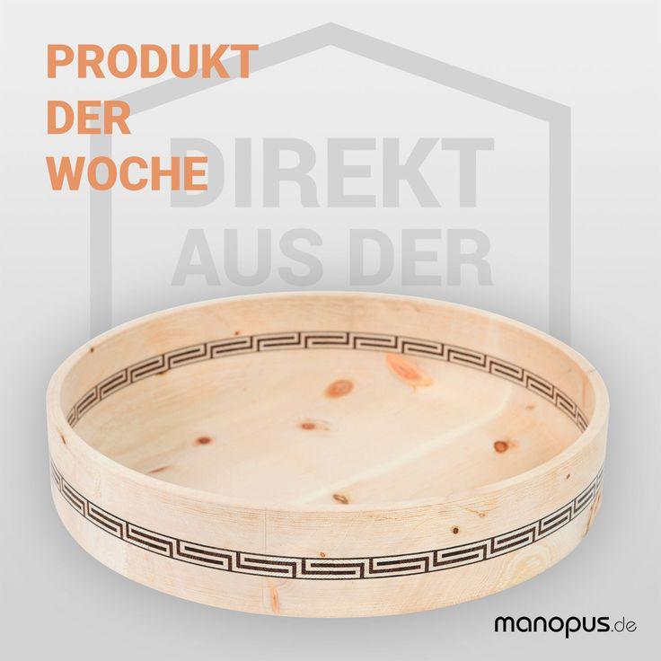 Unser Produkt der Woche: Design-Holzschale Greek von Peter Vogel Holzobjekte  #produktderwoche #handwerk #design #produktdesign #form2015 #formdesignpreis #designpreis #preisträger #premium #holzschale #zirbelholz #antibakteriell #natürlich #intarsien #einlegearbeiten #holzobjekte