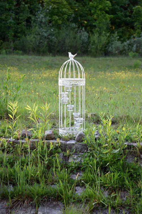 Romantic vintage lantern birdcage style, garden decor www.thewonderwood.com www.facebook.com/thewonderwoodstore
