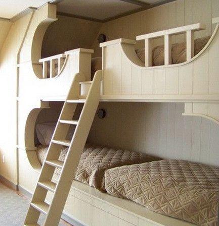 kids bedroom ideas with bunkbeds