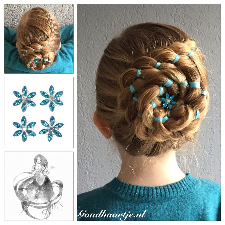 Four strand ribbon updo with a beautiful curlie from Goudhaartje.nl #updo #ribbonbraid #ribbon #fourstrandbraid #4strandribbonbraid #4strandbraid #curlies #beautifulhair #longhair #hairaccessories #updos #hair #hairstyle #opgestoken #lint #haarlint #braid #vlecht #vierstrengenvlecht #4strengenvlecht #mooihaar #langhaar #haar #haarstijl #haaraccessoires #goudhaartje