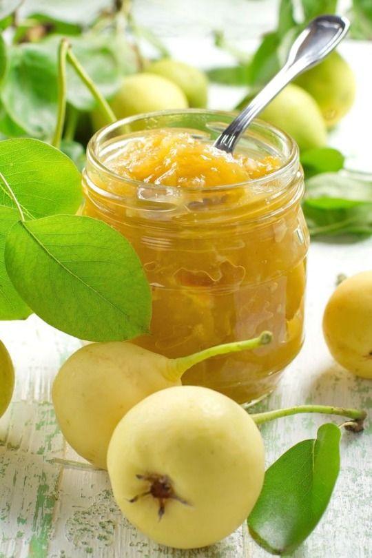 Condiment Recipe: Ginger Pear Jam