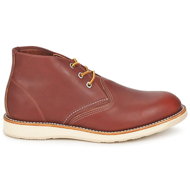 Here's a great Chukka boot from Red Wing, a trusted name in men's shoes #shoes #boots #chukkaboot #redwing #desertboot #leather #midboots #mens #uk #fashion