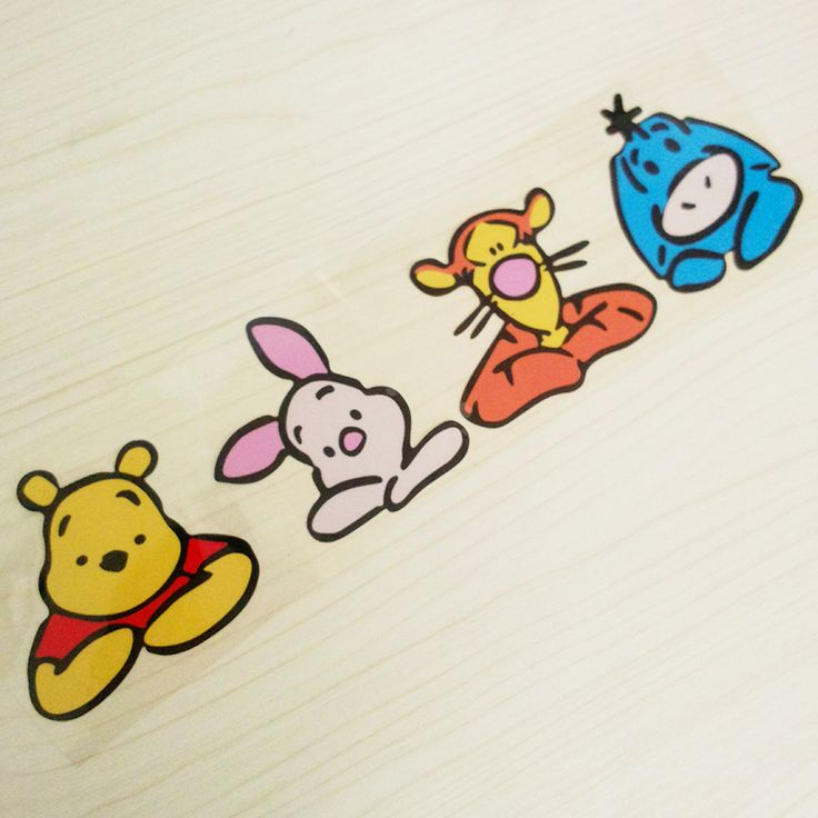 Best 25 winnie the pooh drawing ideas on pinterest simple winnie the pooh bear and friends tiger piglet cute funny cartoon glue sticker car voltagebd Gallery