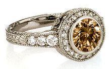 Chocolate Diamond Engagement Rings | 75 CT. Chocolate diamond ENGAGEMENT RING gold new