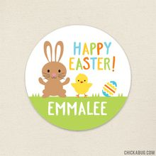 37 best images on pinterest personalized happy easter stickers perfect for easter gifts party favors decor and negle Choice Image