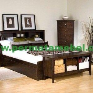 set kamar tidur desain modern