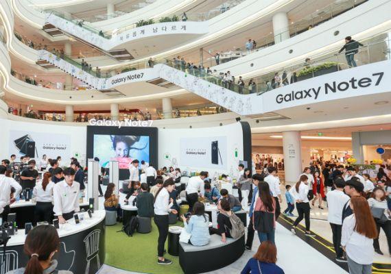 Samsung Galaxy Note 7 Ξανά διαθέσιμο στην παγκόσμια αγορά - Techblog.gr