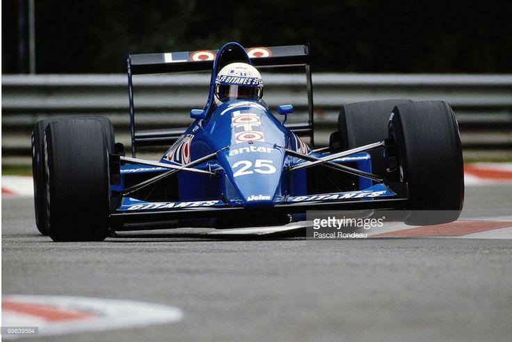 René Arnoux - Ligier Loto - Ligier JS33 - 1989