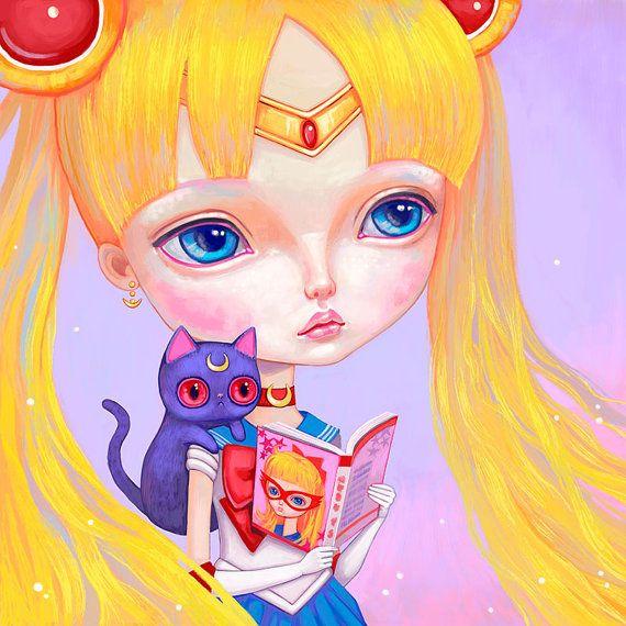 Sailor Moon by Melanie Schultz