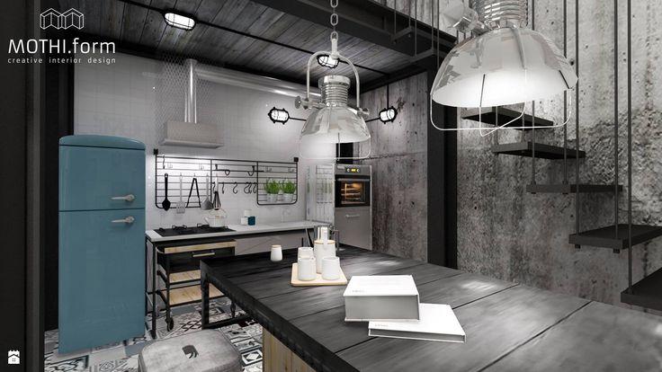 loft - zdjęcie od MOTHI.form - Kuchnia - Styl Industrialny - MOTHI.form