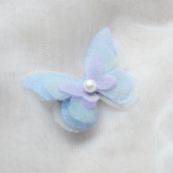 butterfly hair clip hairpin manual decoration bridal handcraft... (€16) ❤ liked on Polyvore featuring accessories, hair accessories, bride hair accessories, hair clip accessories, pearl hair accessories, butterfly hair accessories and pearl hair clip