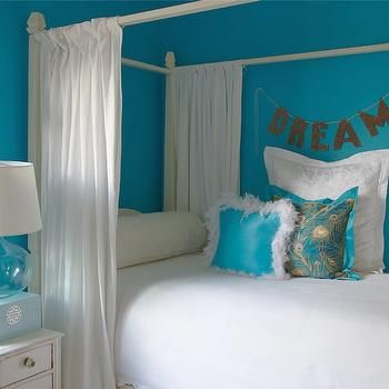 Turquoise Girl's Room