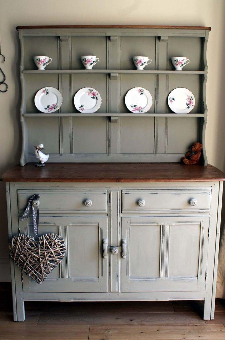 42 beste afbeeldingen van autentico colour inspiration vintage meubels frans grijs en ladekast. Black Bedroom Furniture Sets. Home Design Ideas
