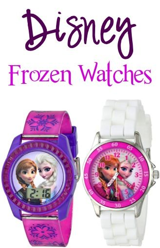 Disney Frozen Watches: $9.99+ {these Anna and Elsa watches make such fun stocking stuffers or gifts for girls!} #watch #thefrugalgirls