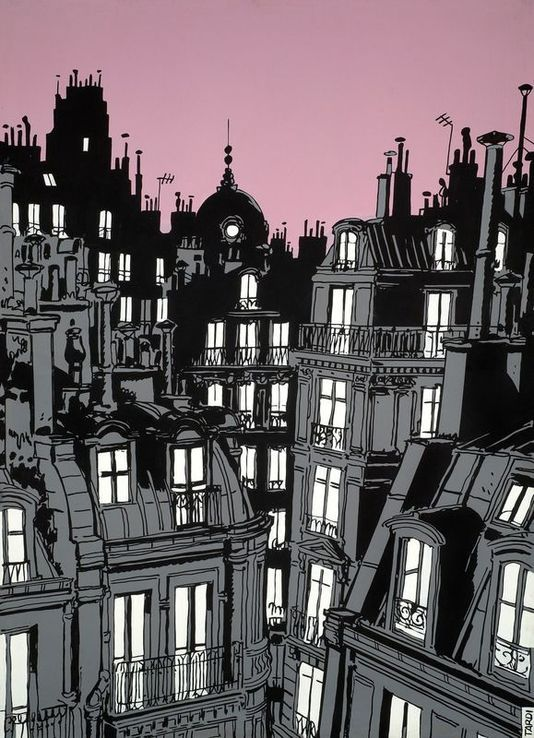 Paris, Jacques Tardi