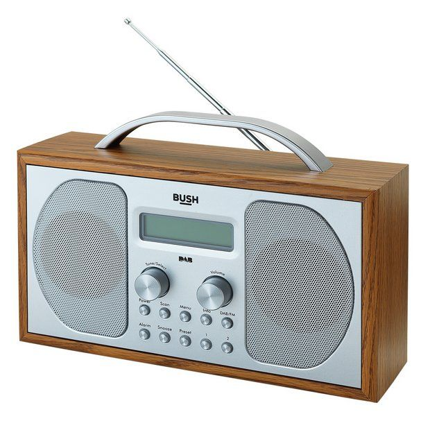 Buy Bush Wooden DAB Radio at Argos.co.uk - Your Online Shop for Limited stock Technology, Limited stock clearance.