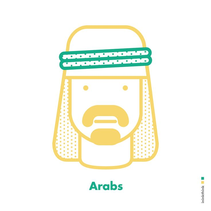 #character #arabs #ininkthink