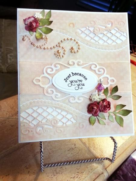 Just Because You're You! by bellarosa - Cards and Paper Crafts at Splitcoaststampers