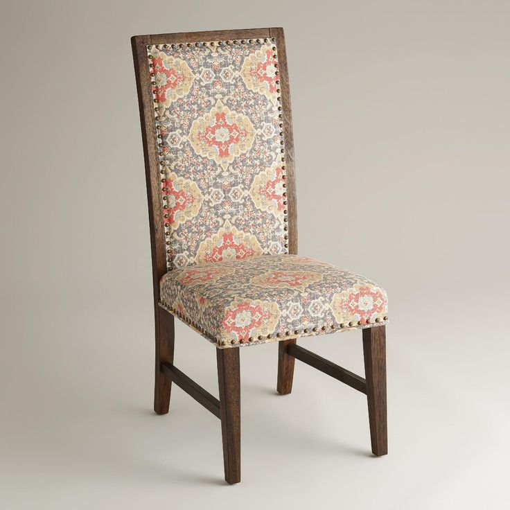 Medallion Print Java Greyson Side Chairs Set Of 2