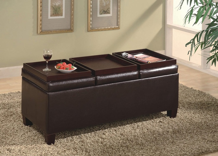 107 best Ottoman Coffee Tables images on Pinterest Home ideas