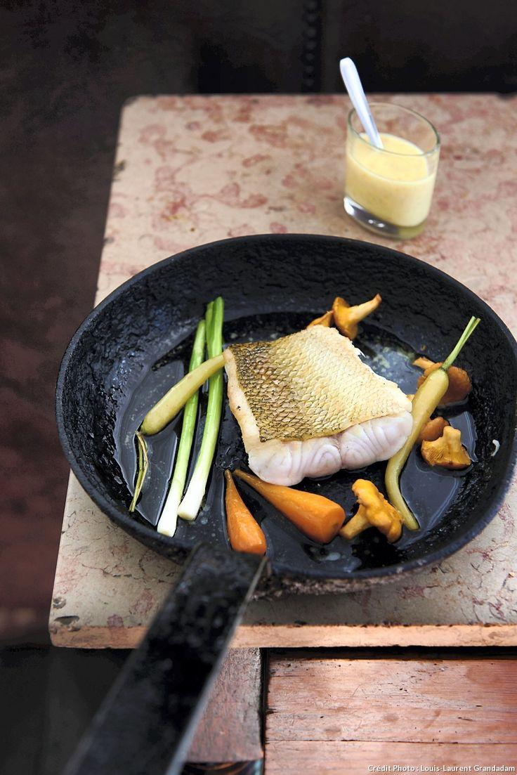 Sandre au beurre blanc - Une bonne recette de poisson, pour régaler toute la famille !