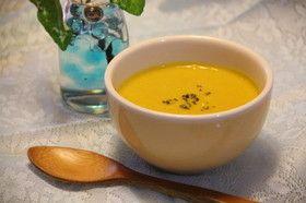 夏だ!カボチャの冷製スープ