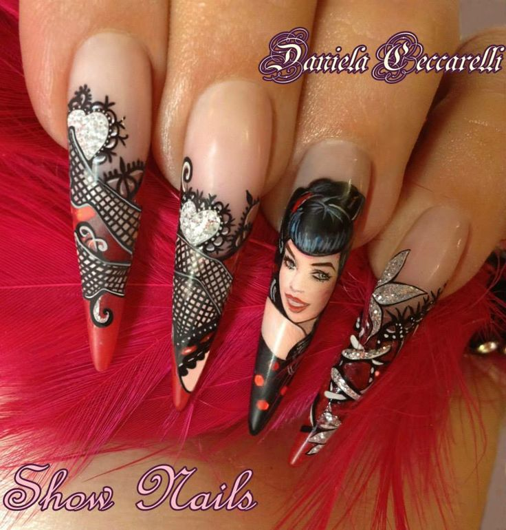 not just nails, little works of art you carry with you!