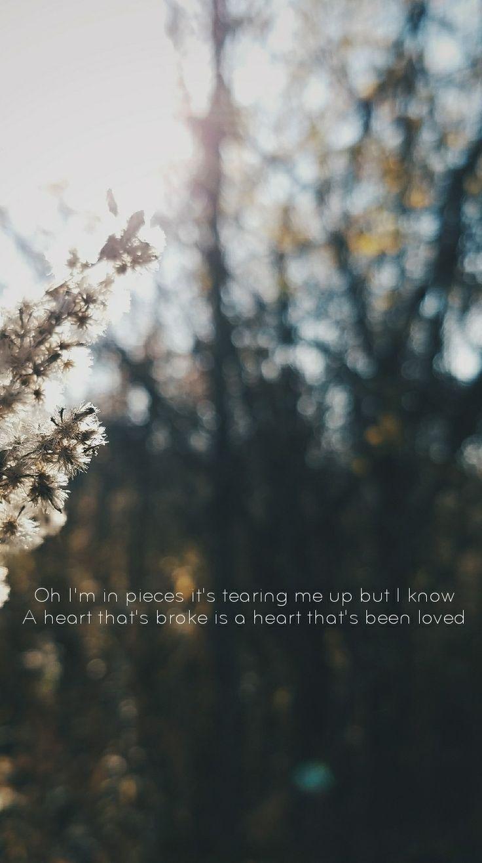 Supermarket Flowers - Ed Sheeran Lyrics Lockscreen
