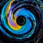 Black Hole, Paint in motion