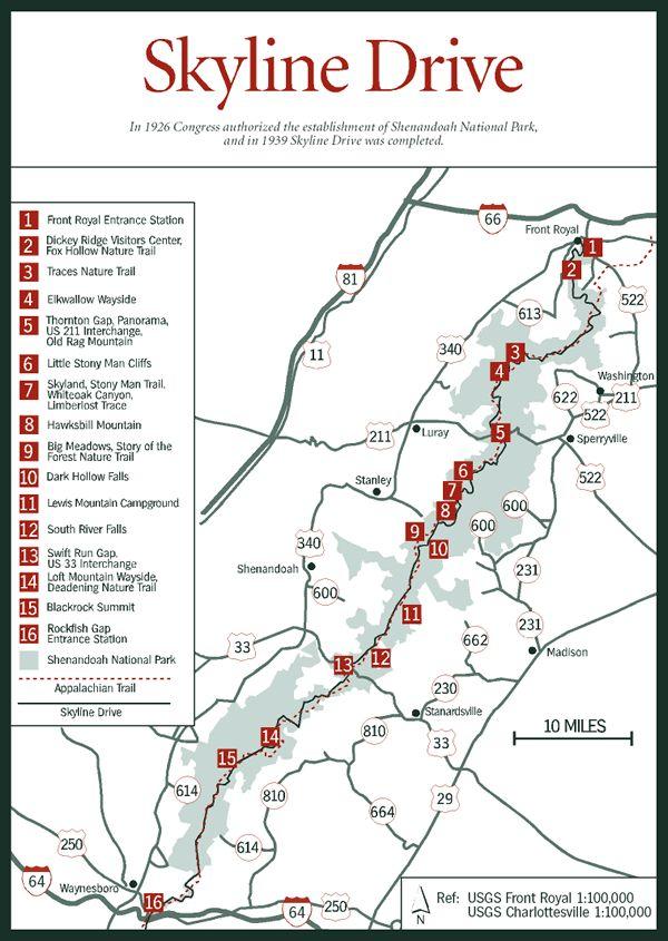 Blue Ridge Mountains West Virginia Map.Pin By Travis On Virginia Vistas