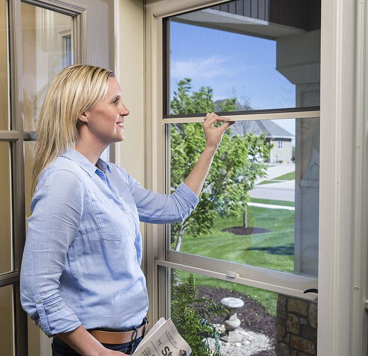 Larson Screen Away Storm Doors Make Letting In The Breeze