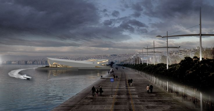 ©Andrei Bujorean Museum for Underwater Archaeology, Thessaloniki - Diploma Project