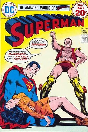 The DC Comics Superman villain, Vartox, was inspired by the science fiction movie Zardoz starring Sean Connery.