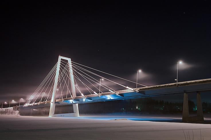 The Kolbäck Bridge (Umeå Sweden)