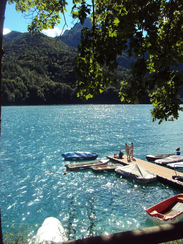 Waiting for the summer time : lake Ledro!