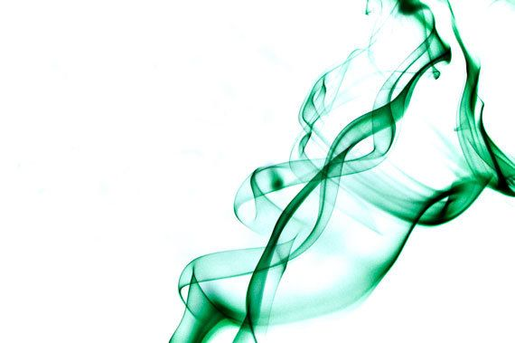 Green smoke photo picture print by UniqueGalleries on Etsy, £12.00