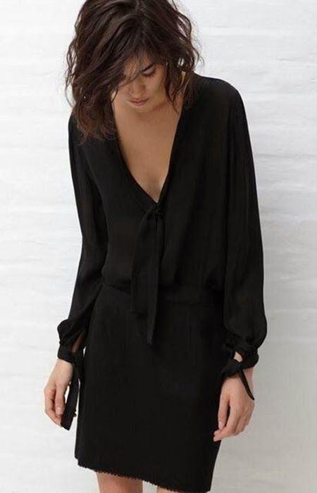 Simple elegant black