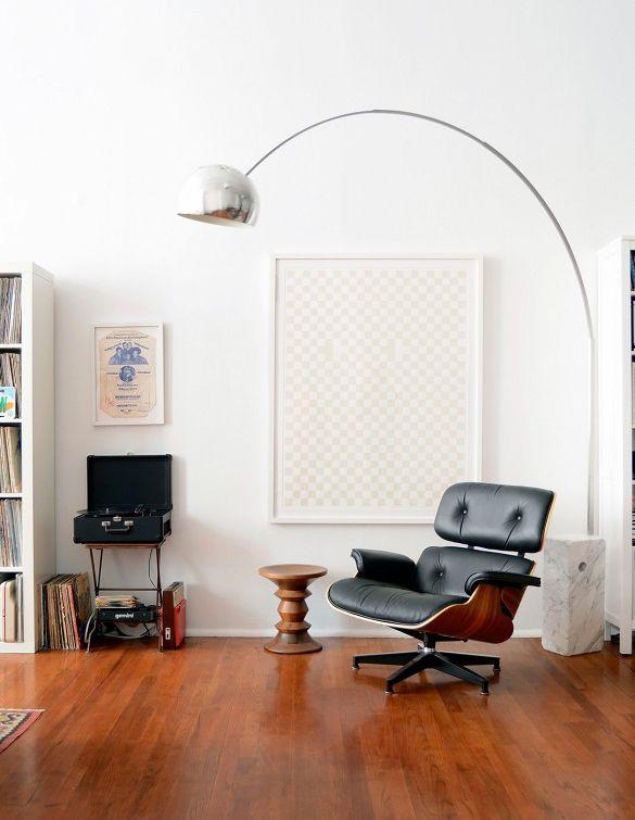 De #Eames #loungechair: Een Prachtige Stoel Die In Ieder #interieur  Schittert En