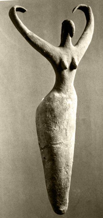 Female Figure, from Ma'mariya, Egypt, Created circa 3500 B.C.E., ..